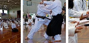 拳正会全国空手道選手権大会の取材