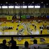 空手道選手権大会の取材に伺いました。